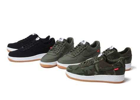 nike air 1 low supreme nike supreme team up to launch air 1 supreme nike