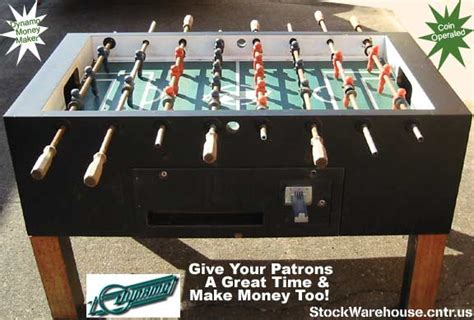 stockwarehouse cntr us dynamo coin operated foosball