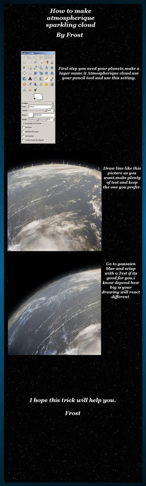 underwater tutorial gimp by frostbo on deviantart tutorial gimp planete trick by frostbo on deviantart