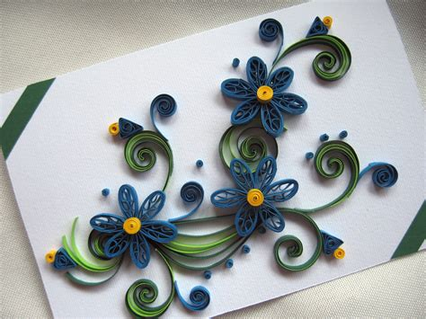 Handmade Greeting Cards Paper Quilling - quilling greeting card handmade thank you card paper