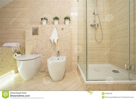 bidet dusche bidet toilet and shower stock photo image 48955438