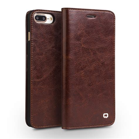 Iphone Handmade - qialino for iphone 7 handmade genuine leather wallet