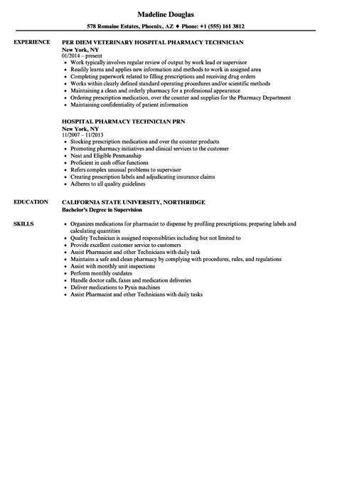 best pharmacy technician resume and cover letter vntask intended