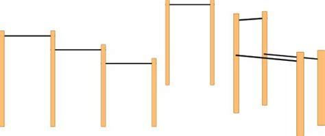 diy backyard pull up bar 25 best ideas about gymnastics bars on pinterest home gymnastics equipment diy