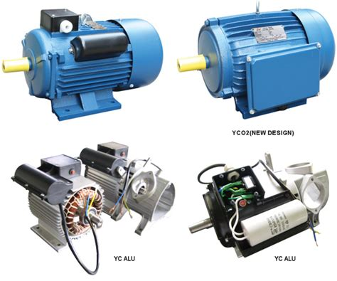 single phase ac motor with capacitor china yc single phase dual capacitor induction motor photos pictures made in china