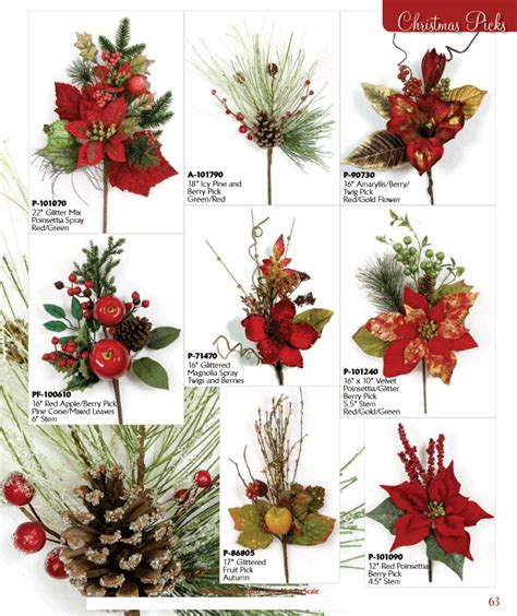 christmas tree picks christmas tree decorations picks holliday decorations