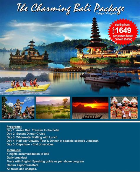 bali package  days  nights indonesia tourist place