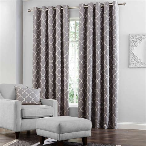 Grey Curtains For Bedroom Grey Bali Lined Eyelet Curtains Dunelm Curtains Living Rooms Bedrooms And Room
