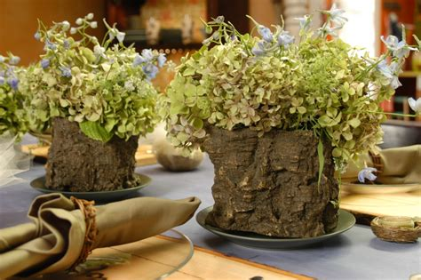 rustic table centerpieces weddings diy rustic bridal brunch the table and flowers