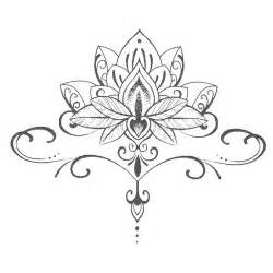 Lotus Floral Design Best 25 Lotus Drawing Ideas On