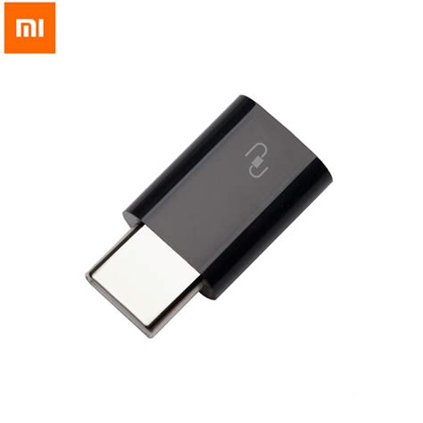 xiaomi type c usb adapter mi4c original micro usb to usb 3 1 type c cable convertor