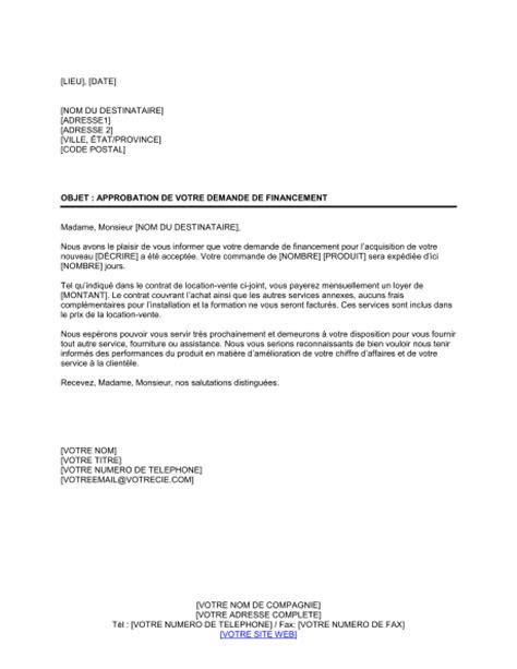 Exemple De Lettre De Demande De Financement Pour Un Projet exemple lettre de demande de financement d une formation