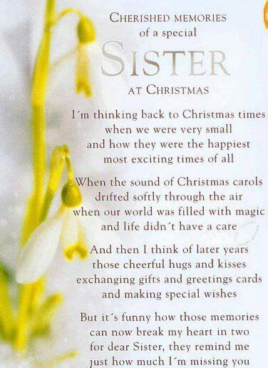 cherished memories   sister sister poems sister quotes
