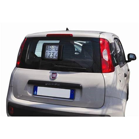 porta targa portatarga magnetico gev per targa prova interno auto