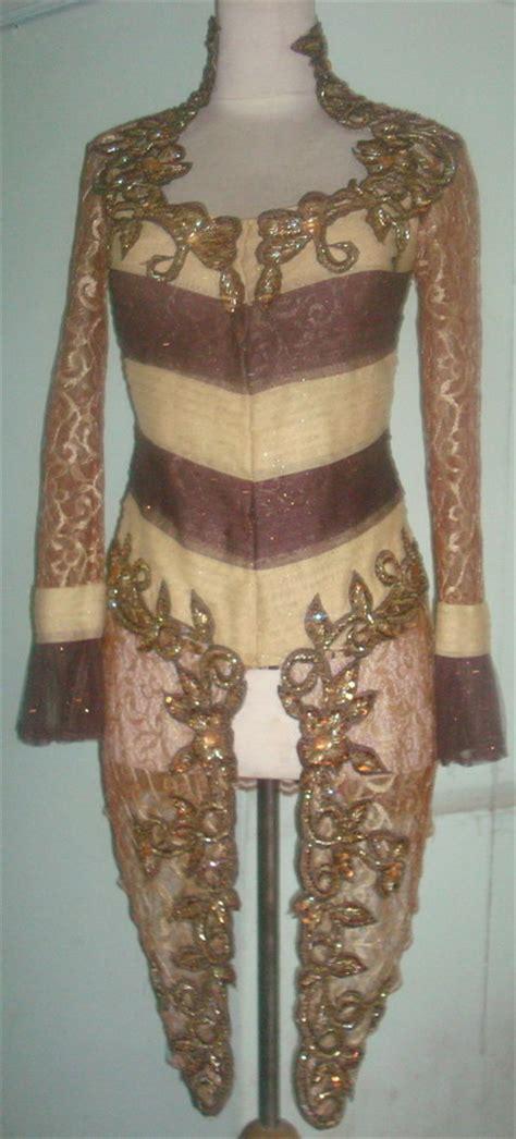 Batik Mahkota Batik Moderen Fashion Trendi fashion baju kebaya modern batik indonesia