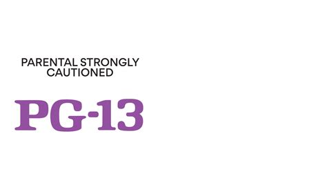 parental rating parental guidance 13 logo www pixshark images