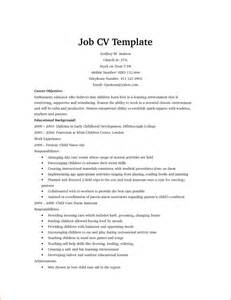 template for a cv 13 model cv for application basic appication letter