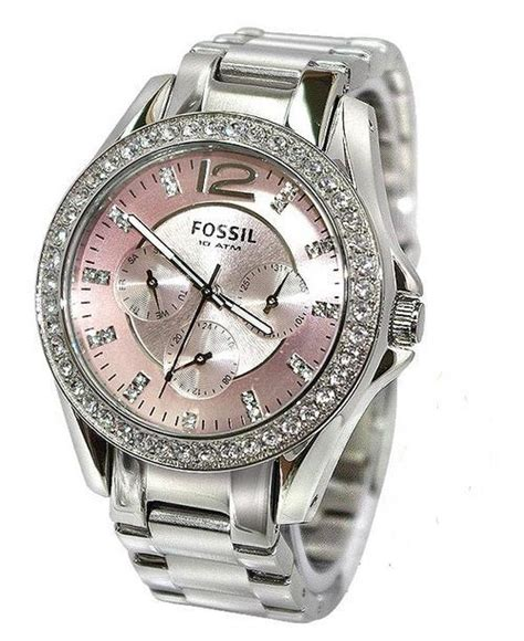 Fosil Best Seller by S Watches Fossil Glitz Pink Boyfriend S