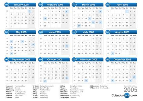 Calendrier 2018 Ccq Calendar 2005