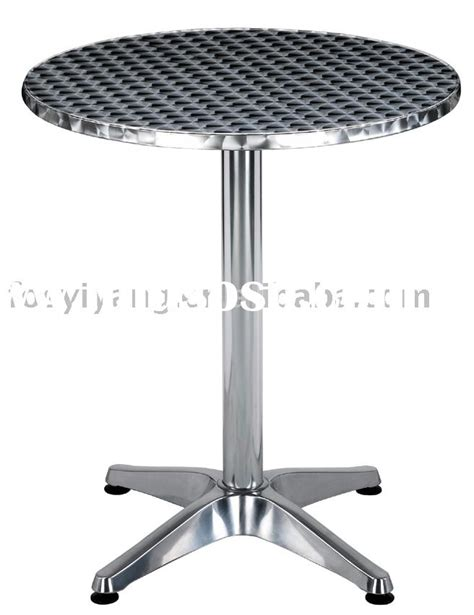 outdoor furniture stainless steel table high quality for