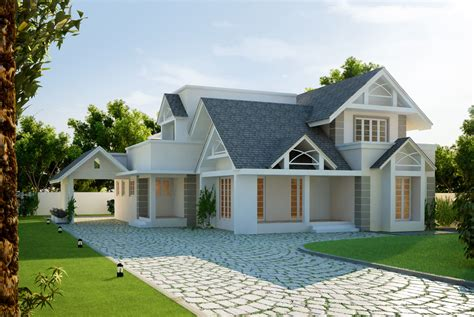 cgarchitect professional 3d architectural visualization 6 awesome dream homes plans kerala home design and floor