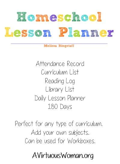 homeschool lesson planner book homeschool healthy recipes and free printable calendar on