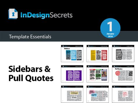 template quote indesign indesign template essentials sidebars and pull quotes