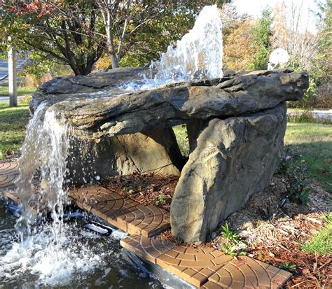 rock waterfalls for gardens artificial rock retaining walls free quote rockscapes