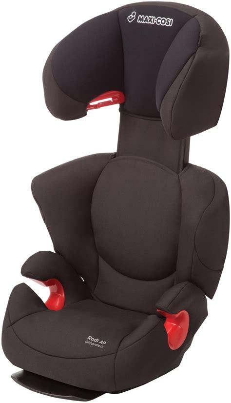 black car booster seat maxi cosi rodi airprotect booster car seat total black