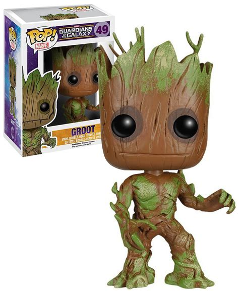 Funko Pop Marvel Guardians Of The Galaxy Groot Ravagers funko pop marvel guardians of the galaxy 49 groot moss new mint condition your solution