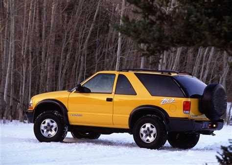 2004 chevrolet blazer pictures history value research news conceptcarz