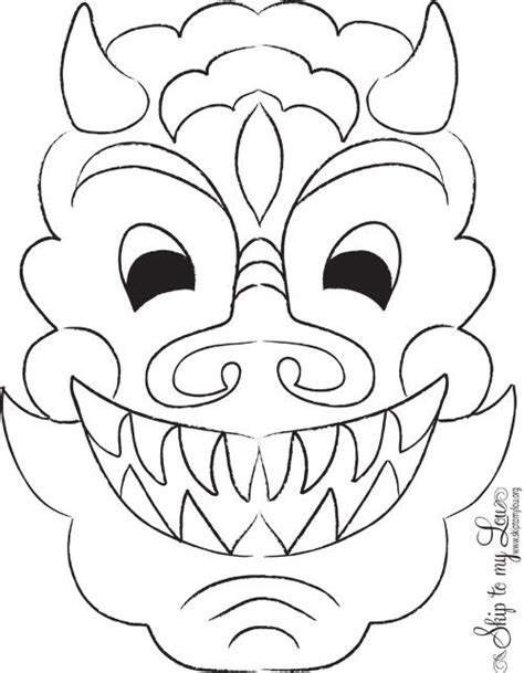 pictures of new year masks lunar new year craft mask alpha