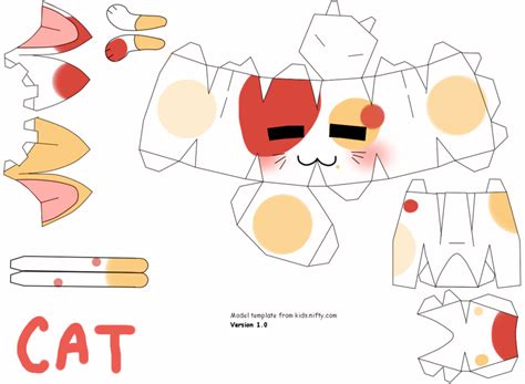 Papercraft Cats - cat papercraft by johananderssongx on deviantart