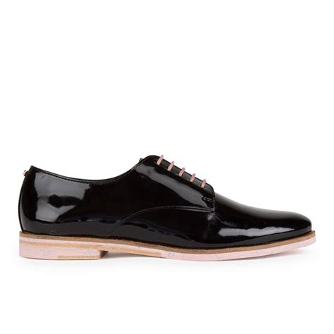 black oxford shoes womens ted baker s loomi patent leather oxford shoes