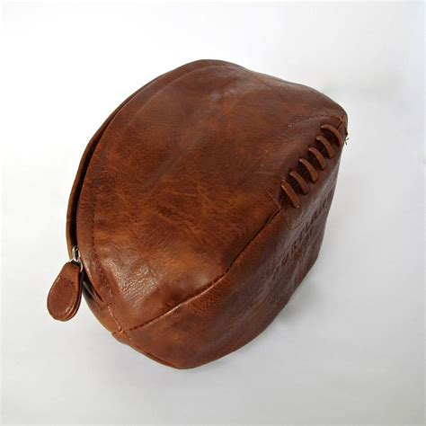 how to wash a rug by leather rugby wash bag by chapel cards notonthehighstreet