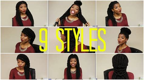 ways to style havana twists 9 ways to style your marley havana twists box braids and