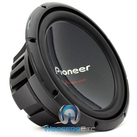 Speaker Subwoofer Pioneer ts w310s4 pioneer 12 quot 400w rms single 4 ohm chion series subwoofer