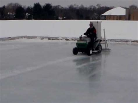 backyard ice rink zamboni dad s homemade zamboni doovi