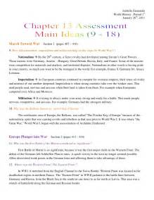 world history chapter 13 assessment ideas 9 18