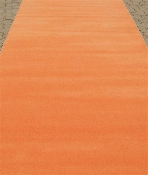 Orange Carpet Runner   Carpet Vidalondon