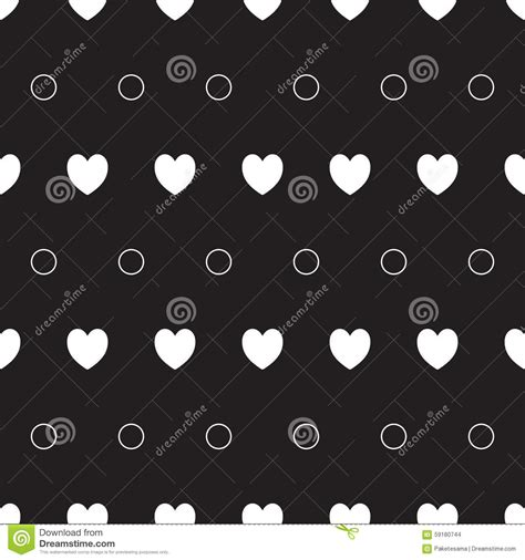 pattern web element seamless hearts pattern stock vector image 59180744