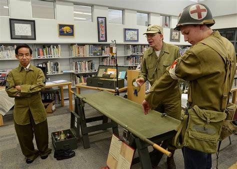 i closed many a world war ii medic finally talks books world war ii re enactors bring uniforms equipment and