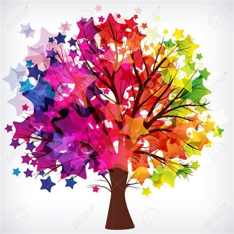 colorful tree colorful family tree background 13 background check all