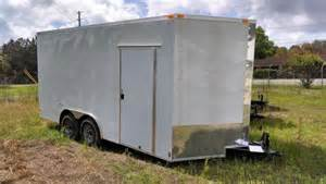 south georgia 8 5 x 16 8 foot ceiling cargo enclosed trailer new cargo trailers for sale