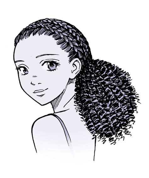 How To Draw Hairstyles by Drawing Anime Hair For And Characters Impact