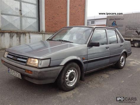 1987 Toyota Specs 1987 Toyota Corolla 1 8 Diesel Sedan E8 Vollfahrbereit