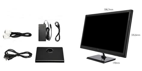 Monitor Led Evio new qnix qx2710 led evolution ii multi true10 2560x1440 27 quot hdmi monitor ebay