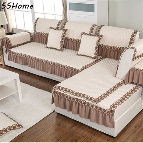 Cushion Sofa Bantal Sofa 6 slip resistant sofa cushion covers continental sofa fabric cushions four seasons luxury