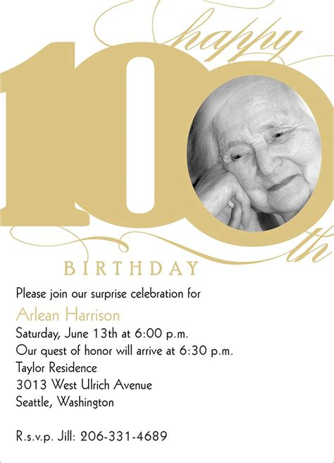 100th birthday card template inspirational quotes for 100th birthday quotesgram