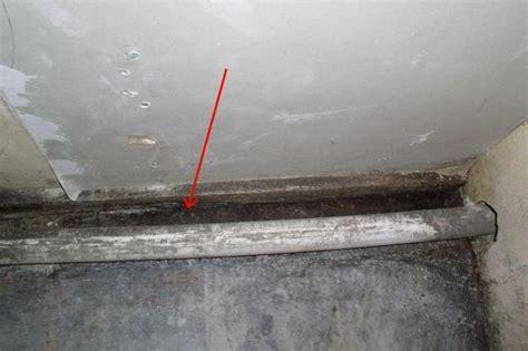 Waterproof Concrete Floor To Wall Molding Doityourself